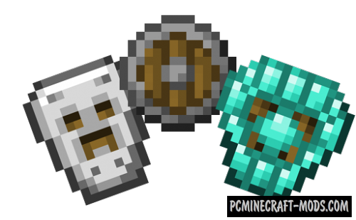 Spartan Shields - New Armor Mod MC 1.15.2, 1.14.4, 1.12.2