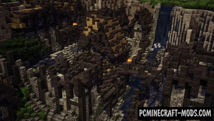 Viking Village - Town Map For Minecraft