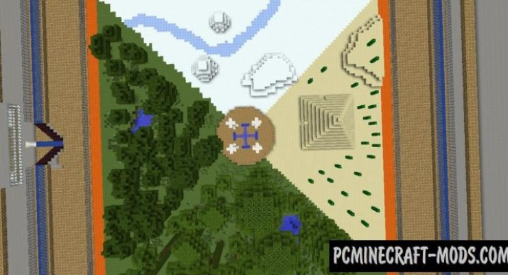 The Hunger Games Map For Minecraft 1.15, 1.14.4 | PC Java Mods