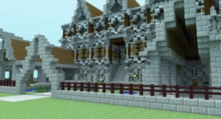 Medieval Mansion Map For Minecraft