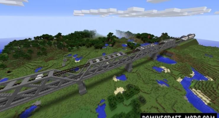 карта железная дорога для майнкрафт 1 5 2 #7