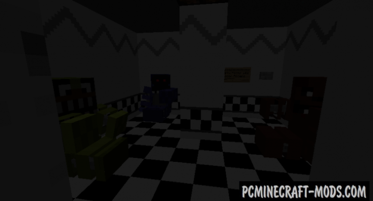 FNAF 2 – Multiplayer Edition Map For Minecraft 1 14 4, 1 14 3 | PC