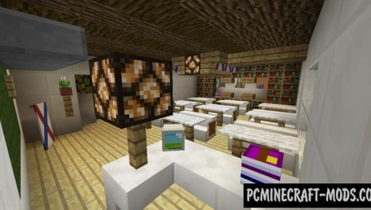 My School by ResAl - Minigames Map Minecraft