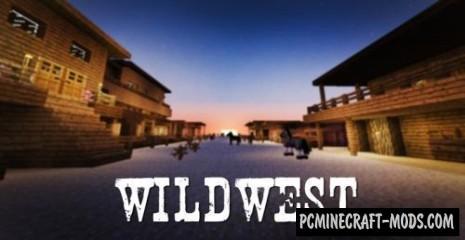 WILD WEST Map For Minecraft