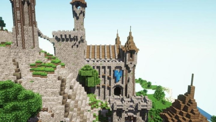 Epic Medieval Castle Map For Minecraft