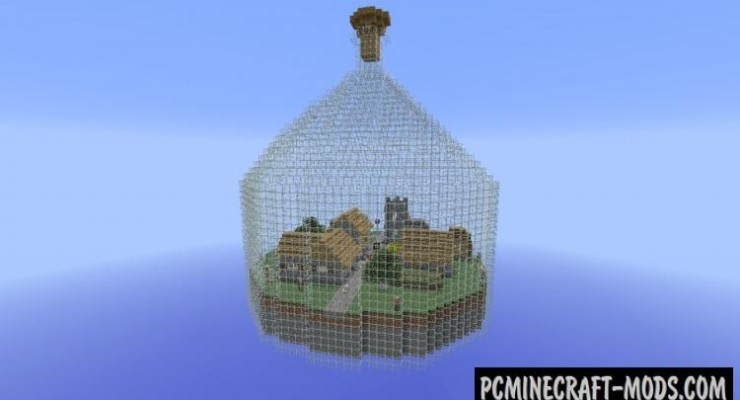 World in a Jar - Survival Map For Minecraft