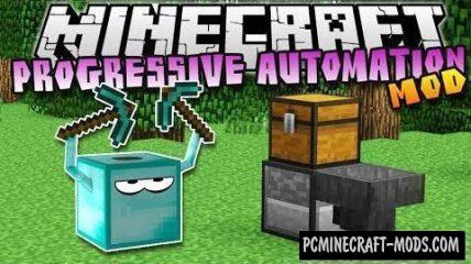 Progressive Automation Mod For Minecraft 1.12.2, 1.11.2, 1.10.2, 1.7.10