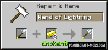 Wonderful Wands Mod For Minecraft 1.11.2, 1.10.2, 1.9.4, 1.7.10