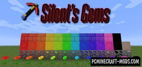 Silent's Gems - New Ores Mod For Minecraft 1.16.4, 1.15.2