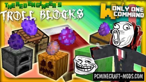 Troll Blocks Command Block For Minecraft 1.8.8, 1.8