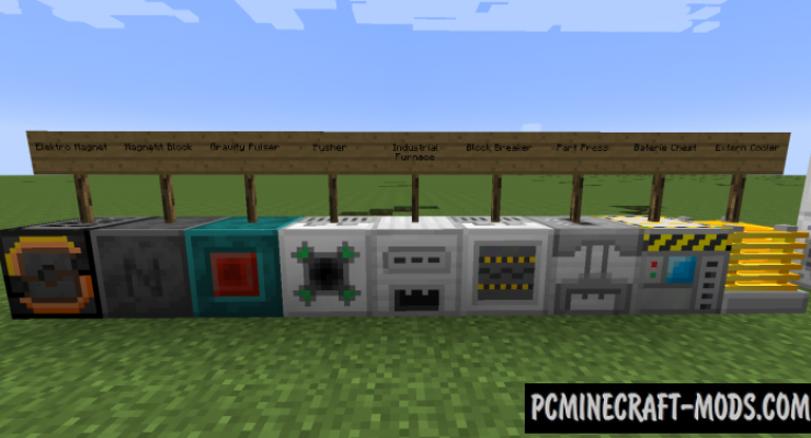 Futurepack Mod For Minecraft 1.12.2, 1.11.2, 1.10.2, 1.7.10