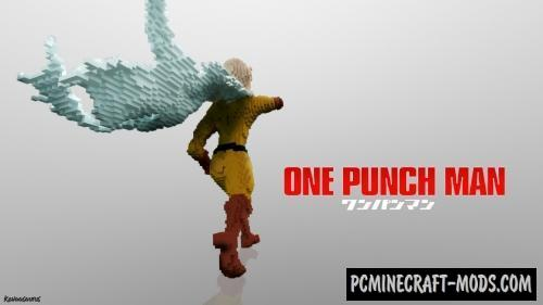 One Punch Man Map For Minecraft