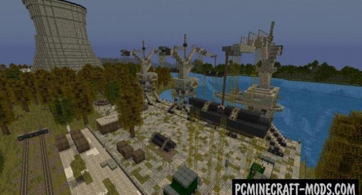 Chernobyl 2015 Map For Minecraft