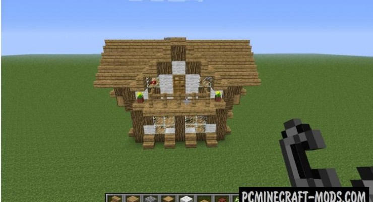Medieval House - Survival Map For Minecraft