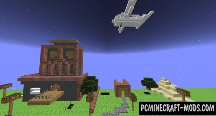 Backflip Madness - Parkour Map For Minecraft