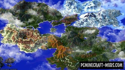 Kingdom Of Thariel Map For Minecraft