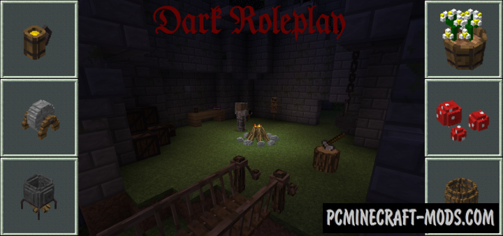 Dark Roleplay Mod For Minecraft 1.12.2, 1.11.2, 1.10.2, 1.7.10