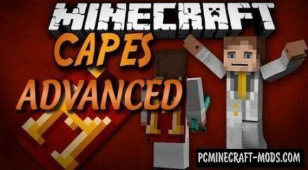 Advanced Capes - Decor Mod For Minecraft 1.17.1, 1.16.5, 1.12.2