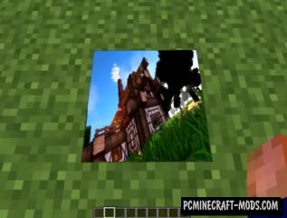 OnlinePictureFrame Mod For Minecraft 1.12.2, 1.11.2, 1.10.2, 1.7.10