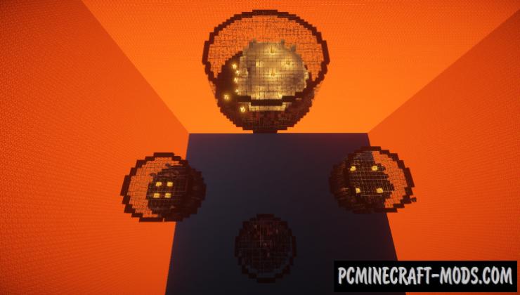 Mini Jar Survival - WorldBorder Map For Minecraft