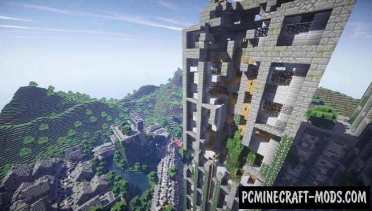 Post Apocalyptic City - PvP Map For Minecraft