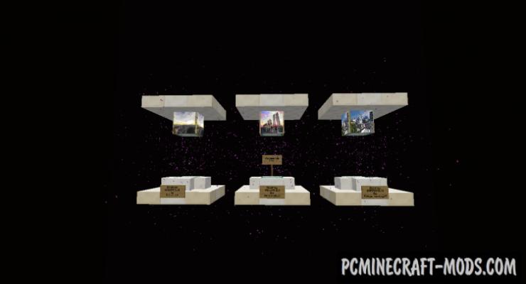 Godzilla - Redstone Mechanism Map For Minecraft