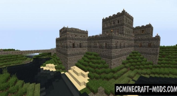 Fortress - Survival, Building Map For Minecraft