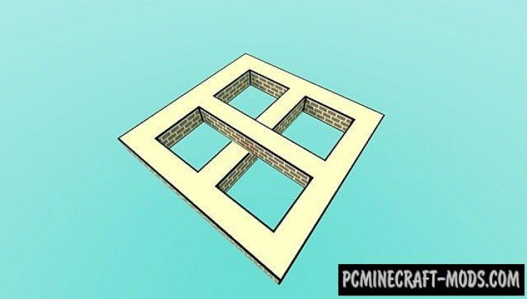 World of illusions - 3D Art Map For Minecraft