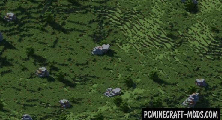 The Wilderness - Surv, Terrain Map For Minecraft