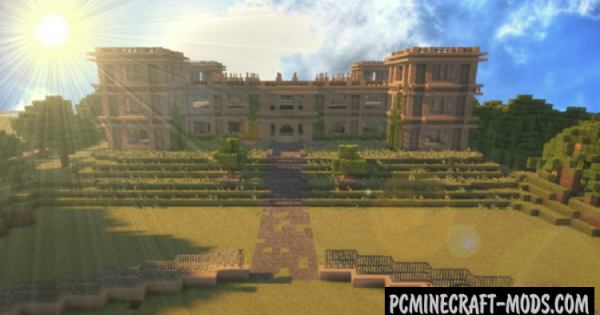 The Wayne Manor Map For Minecraft 1 14 4 1 14 3 Pc Java