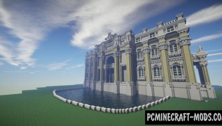 Trevi Fountain - House, Building Map For MC