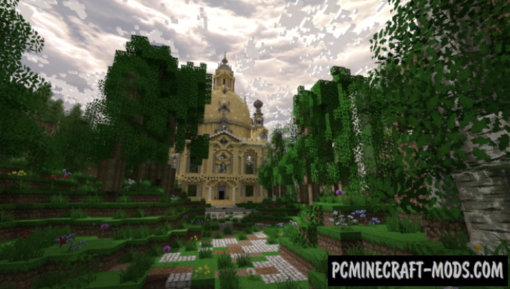 Paradise Map For Minecraft