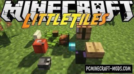 LittleTiles Mod For Minecraft 1.12.2, 1.11.2, 1.10.2, 1.7.10