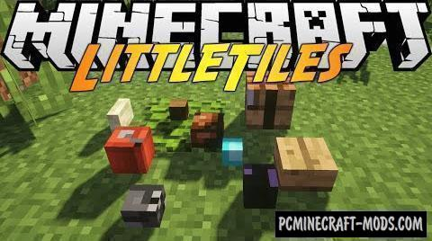 LittleTiles - New Microblocks Mod For Minecraft 1.12.2