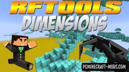 RFTools Mod For Minecraft 1.12.2, 1.11.2, 1.10.2, 1.7.10