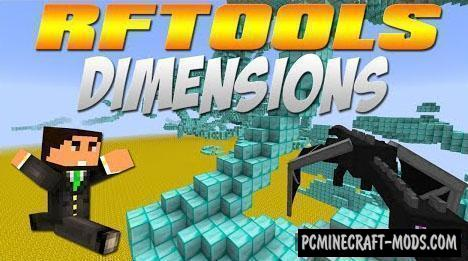 RFTools Mod For Minecraft 1.14.4, 1.12.2, 1.11.2