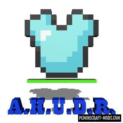Armors HUD Mod For Minecraft 1.12.2, 1.11.2, 1.10.2, 1.8.9