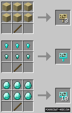 MoarSigns Mod For Minecraft 1.12.2, 1.11.2, 1.10.2, 1.7.10