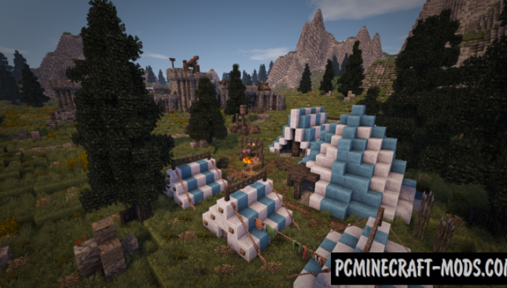 Skyrim inspired Fort Map For Minecraft 1.15, 1.14.4 | PC ...
