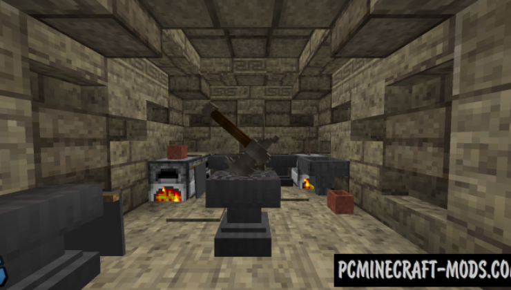 The Unseen Forces - PvE, Minigame Map MC