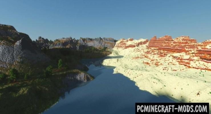 Growth - Custom Terrain Map For Minecraft