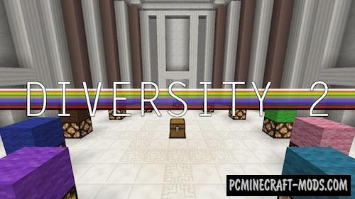 Diversity 2 Map For Minecraft