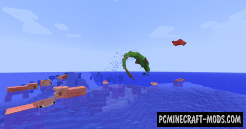 Aquatic Abyss - Creatures Mod For Minecraft 1.7.10