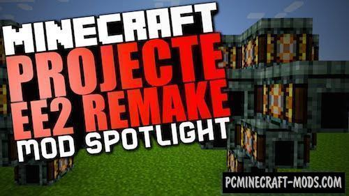 ProjectE - Technology Mod For Minecraft 1.16.5, 1.12.2