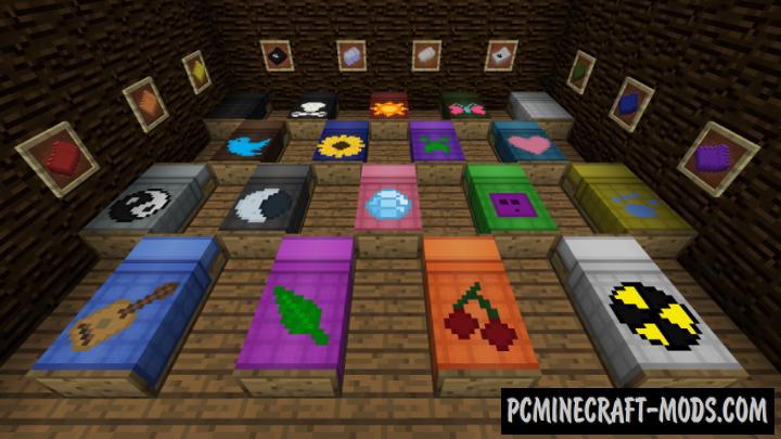 MultiBeds - Decor Mod For Minecraft 1.16.5, 1.12.2, 1.8.9