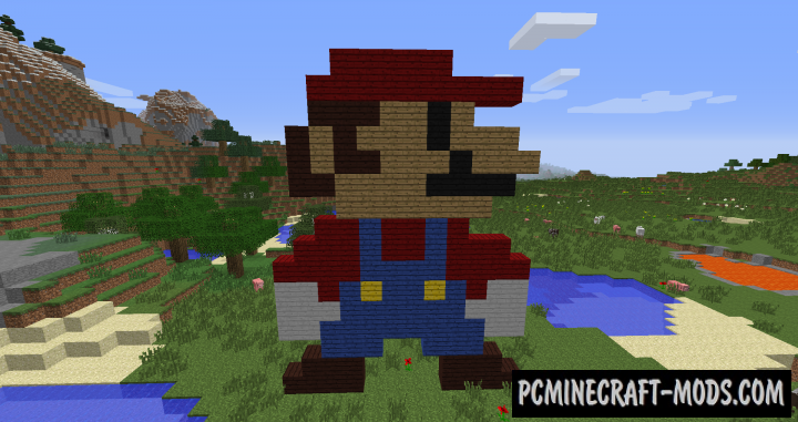 The Colored Planks Mod For Minecraft 1.10.2
