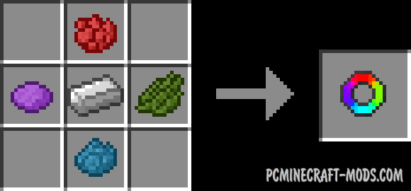 Flat Colored Blocks Mod For Minecraft 1.12.1, 1.11.2, 1.10.2, 1.9.4