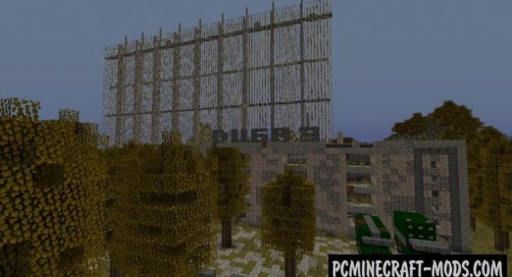 [Map][1.7] Чернобыльская Аэс » Скачать карты для Майнкрафт
