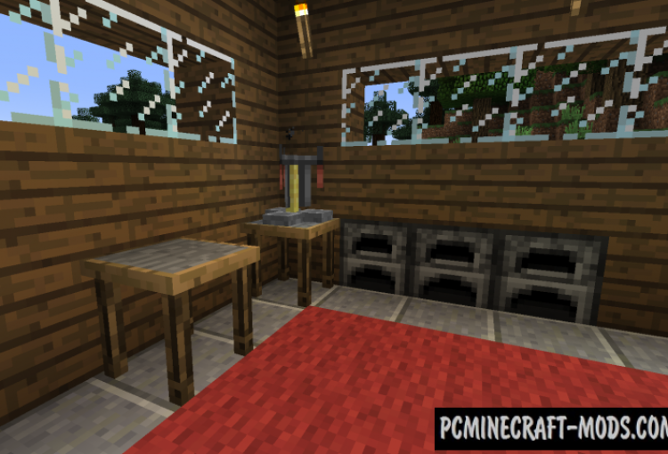 Chisels and Bits Mod For Minecraft 1.12.2, 1.11.2, 1.10.2, 1.9.4