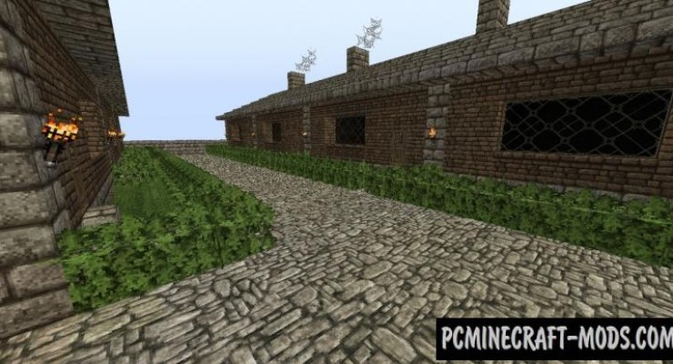Colonial Village - Town Map For Minecraft